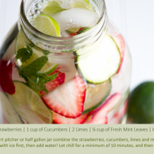 Our Favorite Infused Water Recipes